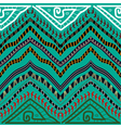 Abstract seamless pattern in ethnic style Stock vector image vector image