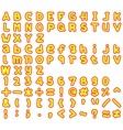 Alphabet2 vector image vector image