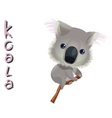 animal Koala vector image vector image