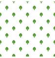 artichoke pattern seamless vector image vector image
