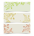 background autumn leaves vector image vector image