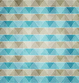 blue ornament textile with grunge effect vector image vector image