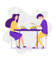 dating cartoon funny vector image vector image