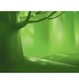 Deep forest tree vector image vector image
