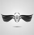 Flying Skull vector image