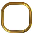 frame gold clip art vector image vector image