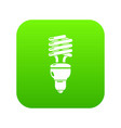 light bulb icon simple black style vector image vector image