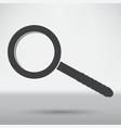 magnify icon vector image