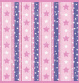 pink and violet abstract geometric retro pattern vector image vector image