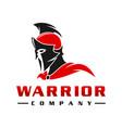 sparkling warrior peoples logo design vector image vector image