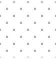 tile pattern with grey triangles on white vector image vector image