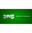 2015 Card vector image vector image