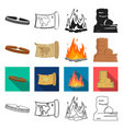 history nature ecology and other web icon in vector image vector image