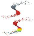 S Logo vector image vector image