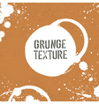 grunge texture with stains vector image
