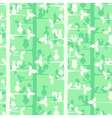 Seamless pattern with trees and forest birds and vector image