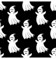 Cartoon uggly ghosts and monsters seamless pattern vector image vector image
