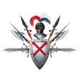 Knights mascot vector image vector image