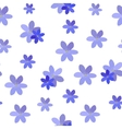 Abstract Simple Flower Seamless Pattern Background vector image vector image