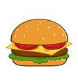 Burger Clip Art Design vector image vector image