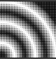 halftone dot background vector image