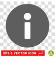 Info Round Eps Icon vector image vector image