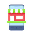 mobile shopping app icon application