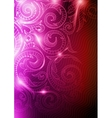 Neon Pattern Background vector image vector image