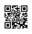 QR code encryption vector image
