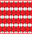 tile white red and grey pattern vector image vector image