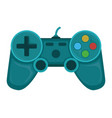 gamepad stuff gear for playing online games flat vector image vector image