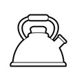 kettle or teapot icon image vector image vector image
