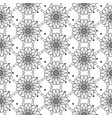 seamless black and white pattern entangle design vector image