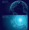symbols of international communication poster vector image