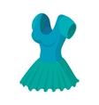 Woman dress icon cartoon style vector image