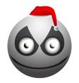 angry snowman emoji vector image