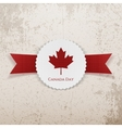 Canada Day Holiday paper Tag vector image