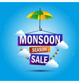 monsoon season sale rain umbrella shop vector image vector image