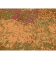 natural rusty texture imitation of rust vector image vector image