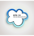 sketch cloud vector image