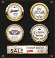 super sale retro vintage labels collection 2 vector image vector image