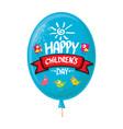 1 june international childrens day background vector image vector image