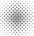 Black and white abstract polygon pattern design vector image vector image