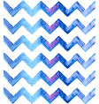 Chevron watercolor blue Background vector image