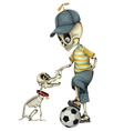 Funny Skeleton vector image vector image