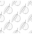 lime fruits hand drawn sketch as seamless pattern vector image vector image