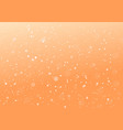 orange abstract dotted background vector image vector image