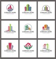 Real Estate Logo Templates vector image