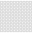 Round simple pattern seamless diagonal vector image vector image