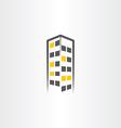 building night icon symbol logo vector image